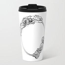 Modern Wreath Travel Mug