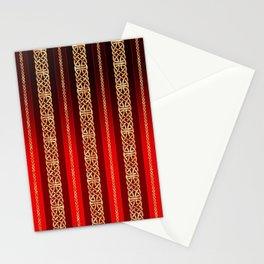 Viking red Stationery Cards