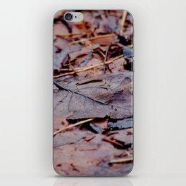Winter Leaves2 iPhone Skin