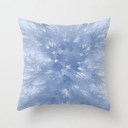 Cyan Splendor Throw Pillow