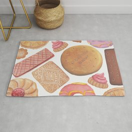 Biscuit Selection Rug