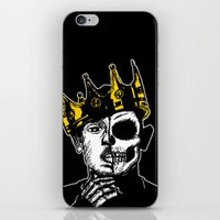 kendrick lamar iPhone & iPod Skins featuring King Kendrick by zombieCraig by zombieCraig