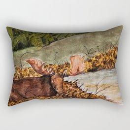 skjulte kilder og tjern Rectangular Pillow
