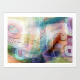 Coconut Creme Brule Art Print