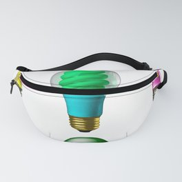 Lightbulbs Of A Differnt Color Fanny Pack