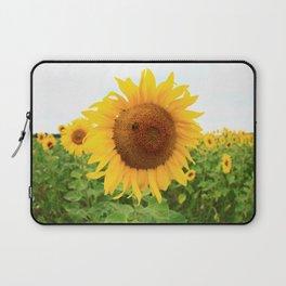 Sonnenblumen 1 Laptop Sleeve