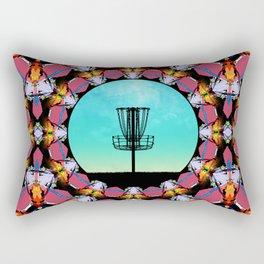 Disc Golf Abstract Basket 6 Rectangular Pillow