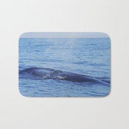 Tropical whale: The Bryde´s whale Bath Mat