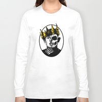 kendrick lamar Long Sleeve T-shirts featuring King Kendrick by zombieCraig by zombieCraig