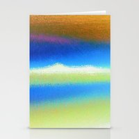 bands Stationery Cards featuring Colour Bands by Brian Raggatt