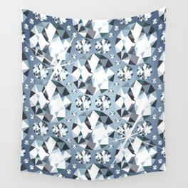 Diamonds are for Ever Wall Tapestry