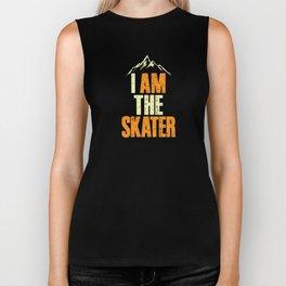 Sarcastic Ironic I Am The Skater Unisex Shirt Biker Tank