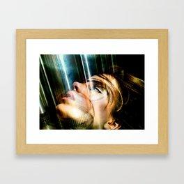 Celebrity Row - Kate Framed Art Print