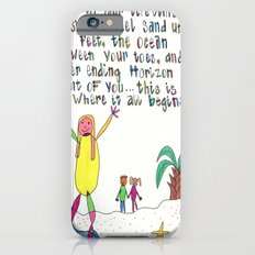 Sand Between Your Toes iPhone 6s Slim Case