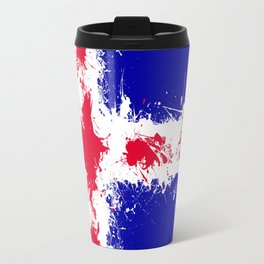 in to the sky, iceland Travel Mug