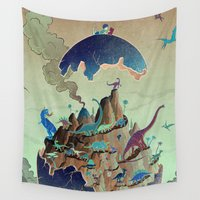 imagination Wall Tapestries featuring Imagination  by dreamshade