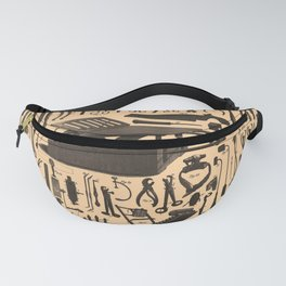 Iconographic Encyclopedia of Science, Literature and Art (1851) - Various surgical instruments Fanny Pack