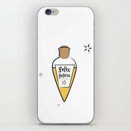 Potter Inspired Vial of Felix Felicis iPhone Skin