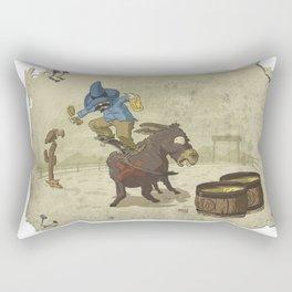 Burrito Skating Rectangular Pillow