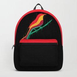Melting bird Backpack