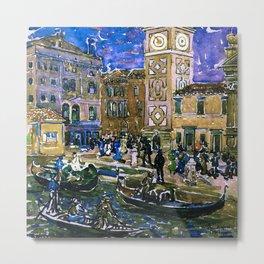 "Maurice Prendergast ""Santa Maria Formosa Venice"" Metal Print"