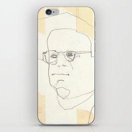 Line Glasses iPhone Skin