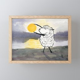 Capture the Sun Framed Mini Art Print