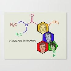 Lysergic Acid Diethylamide Canvas Print
