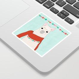 Llama Days Sticker