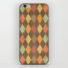 pattern grundgy iPhone Skin