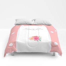 cat bride Comforters