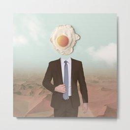 The Eggman Metal Print