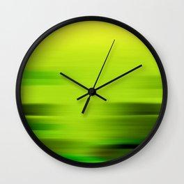"""Abstract Lake Porstroke (Pattern)"" Wall Clock"