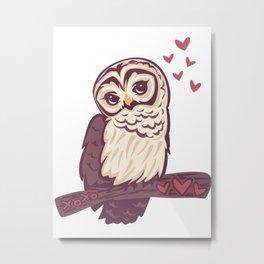 xoxo owl Metal Print