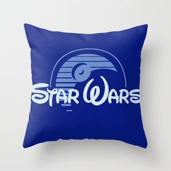 Disney Wars Throw Pillow