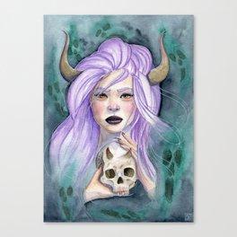 Queen Of Death Canvas Print