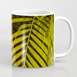 TROPICAL LEAVES GREEN MOCCA no4 Coffee Mug