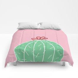Cute Cactus (Series 2/3) Comforters