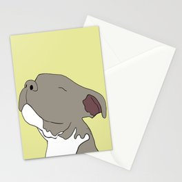 Sunny The Pitbull Puppy Stationery Cards