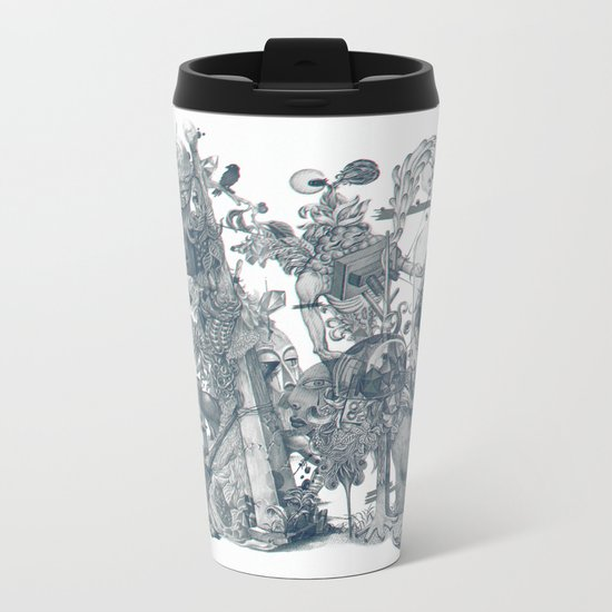 seam imaginations Metal Travel Mug