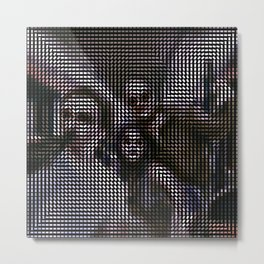 Social Surface - Drinking friends Metal Print