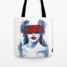 Blind love is  Tote Bag