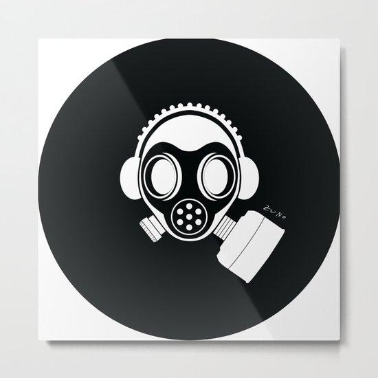 Post World Zuno : Gas Mask 04 Metal Print