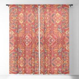 Mandala Royal Indiana  Sheer Curtain