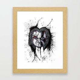 The Horror of Chucky Framed Art Print