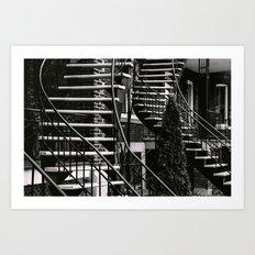 Chutes and Ladders Art Print