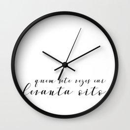 Levantar Wall Clock