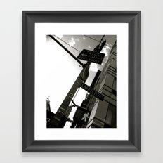 WHITEOUT : WALK Framed Art Print