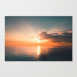 Whitehaven Sunset Canvas Print