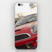 mini cooper iPhone & iPod Skins featuring Mini by SShaw Photographic